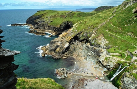 Tintagel, Cornwall (UK) - Photo: Melissa Becker